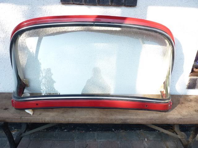 Hood Frame Restoration
